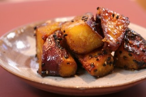 Easy 1-Pot Non-Fried Candied Sweet Potatoes