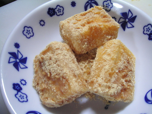 Instantly Done In The Microwave! Adaptable Kinako-mochi Using Cut Mochi Rice Cakes
