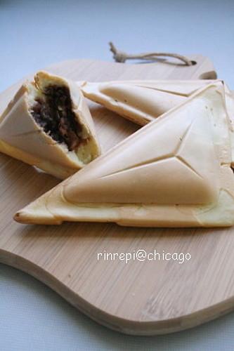 Taiyaki-style Snacks (with a sandwich press)