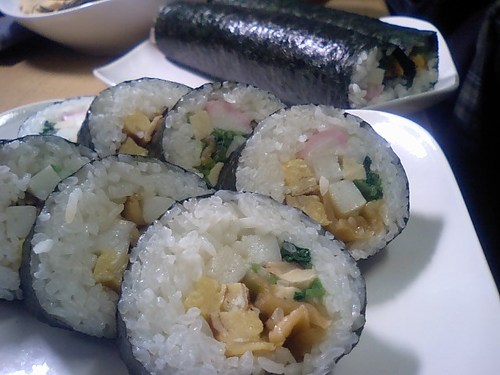 'Eho Maki Rolls' with Seven Lucky Fillings