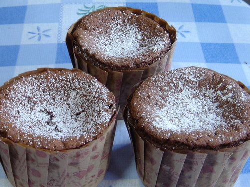Easy Flour-less Chocolate Cupcakes