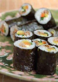 Kimbap (Korean-style Sushi Rolls)