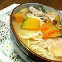 Hoto Flat Noodles with Hiyamugi Noodles
