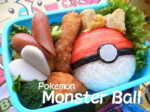 "Pokemon ""Pokeball"" Bento"