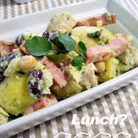 Chicken and Potato Salad with Basil