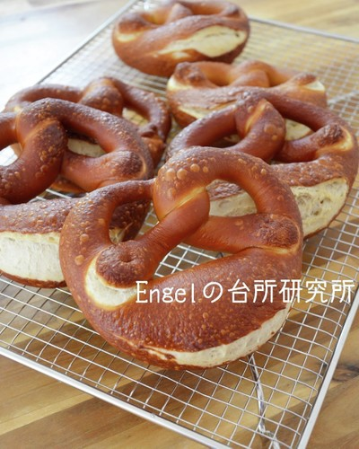 Authentic German Pretzels
