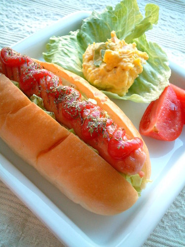 ☆ Deli Cabbage Curry Hot Dog ☆