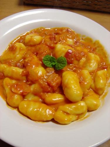 Tomato Cream Gnocchi