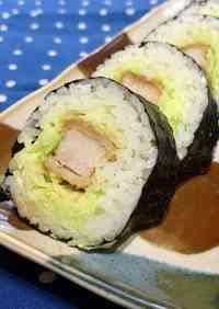 Tonkatsu Sushi Rolls