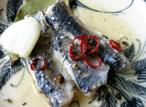 Homemade Oil Sardines