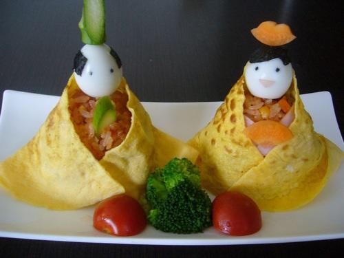 Hinamatsuri (Japanese Girls' Day) Hina Doll Sushi