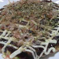 Kansai-style Okinomiyaki