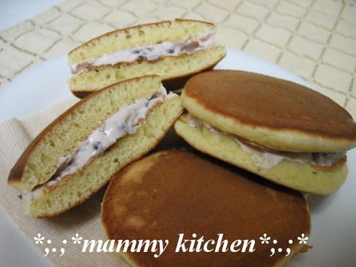 Soy Milk Dora-Yaki Pancakes with Cream Filling