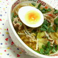 Quick Ramen Noodles with Stir-Fried Vegetables