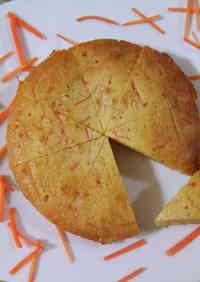 Crunchy Crispy Rum Carrot Cake