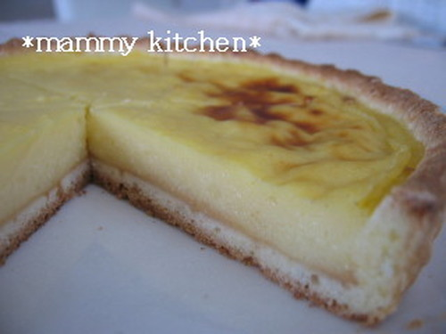 Soy Milk Egg Tart Baked in a Low-cal Crust