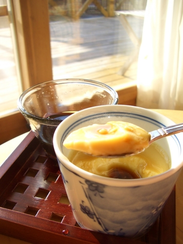 Melt-in-your-mouth Soy Milk Pudding