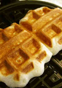 Shocking and Super Rich Belgian Waffles