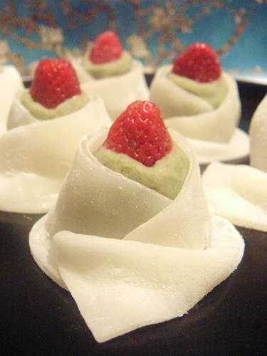 Strawberry Yuu-Hime Mochi Dumplings