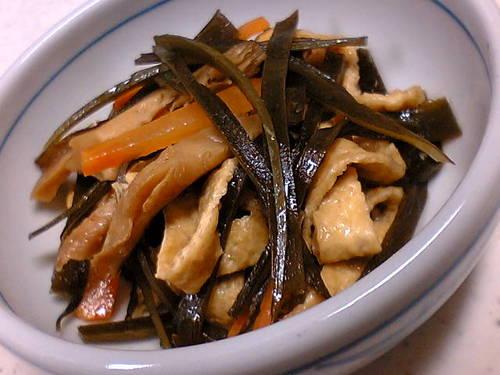 Healthy Simmered Konbu Seaweed