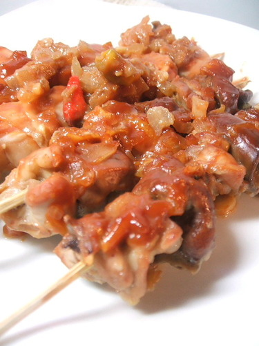 Cebu-Style Chicken Skewers with Vinegared Marinade