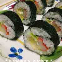 Salad Sushi (California Roll)