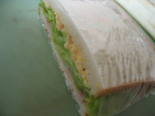 Packed Lettuce Sandwiches