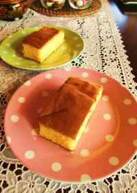 Japanese Confectionary-style Honey Castella