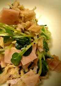 Daikon Radish Sprout Salad