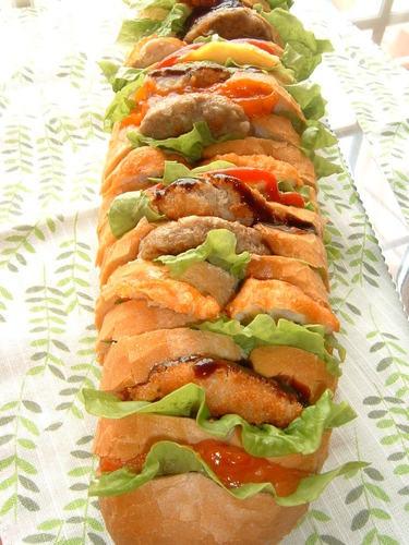 Accordion Sandwich
