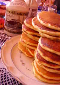 Top Secret Pancakes from Canada