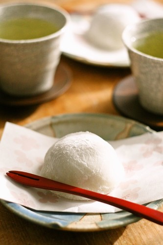 Daifuku : Mochi with Red Bean Paste