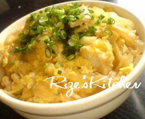 Ridiculously Simple Oyako-don: Chicken and Egg Rice Bowl