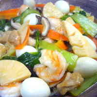 "Cantonese-style ""Eight Treasure"" Stir-fry"