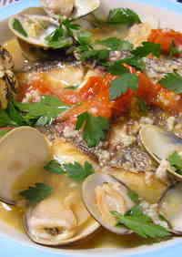 Easy Acqua Pazza with Fish Fillets