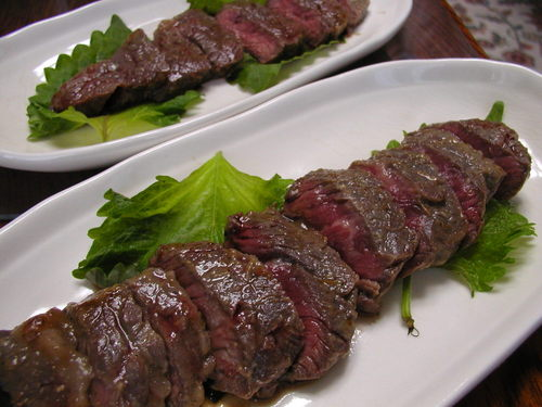 Australian Beef Steak with Sansho Pepper and Miso