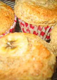 Oil and Egg-Free Soy Milk Banana Muffins
