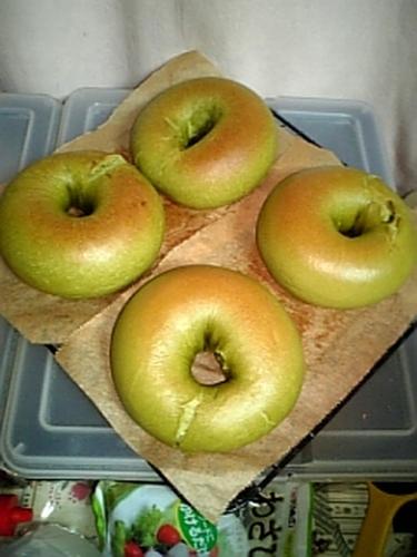 Matcha Bagels