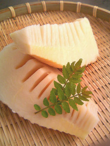 Bamboo Shoots Prepared in a Pressure Cooker