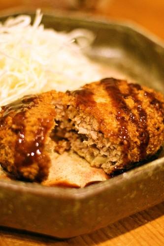 Menchikatsu - Japanese Style Fried Hamburg Steak