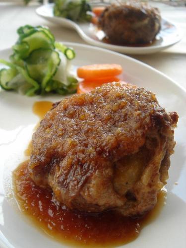 Layered Beef and Potato Hamburger Steak