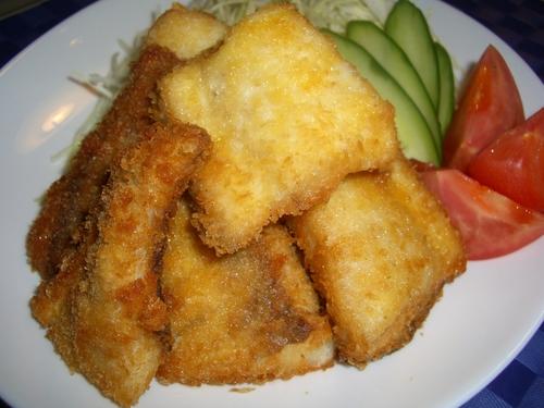 Preparing Fried Mejina (Rudder Fish)