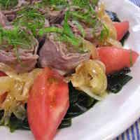 Aussie Beef Rolls Marinated in Sweet Onions