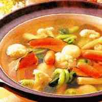 Shin's Vegetable Salad Hot Pot