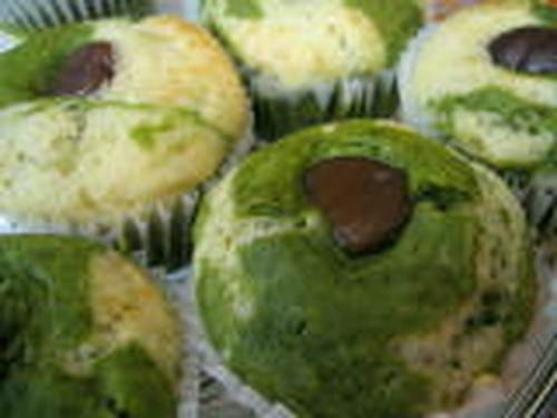 Macrobiotic Green Tea Chestnut Muffins