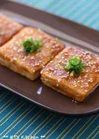 Great with Rice! Kabayaki-style Tofu