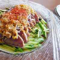 Korean-style Seared Skipjack Tuna