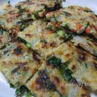Authentic Chijimi (Korean Pancakes)