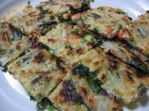 Authentic Chijimi (Korean Pancakes)
