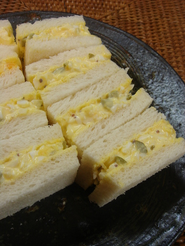 Egg Sandwich with Tartare-like Sauce